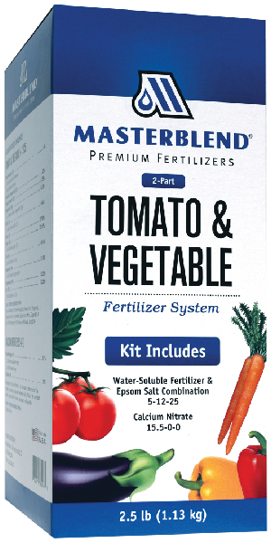Masterblend tomato and vegetable fertilizer