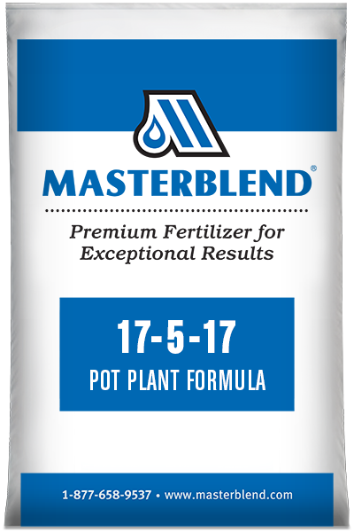 17-5-17 Pot Plant Formula Masterblend water-soluble fertilizer