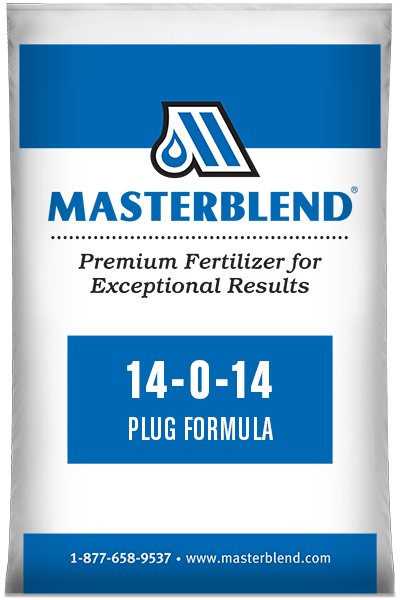 14-0-14 Plug Formula Masterblend water-soluble fertilizer