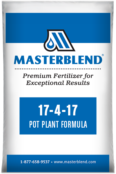 17-4-17 Pot Plant Formula Masterblend water-soluble fertilizer