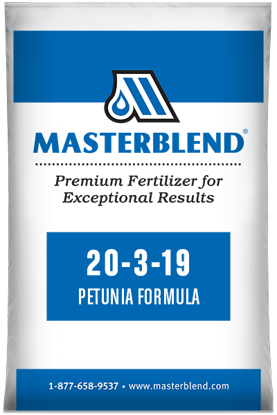 20-3-19 Petunia Formula Masterblend water-soluble fertilizer
