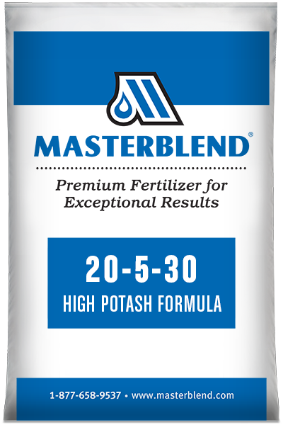20-5-30 High Potash Formula Masterblend water-soluble fertilizer