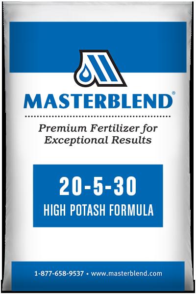 20-5-30 High Potash Formula Masterblend water-soluble fertilizer