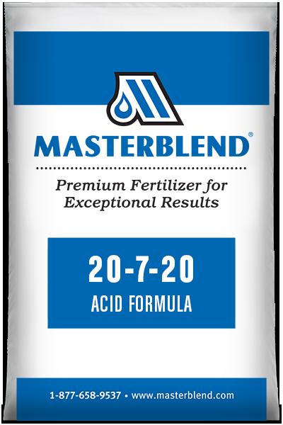20-7-20 Acid Formula Masterblend water-soluble fertilizer