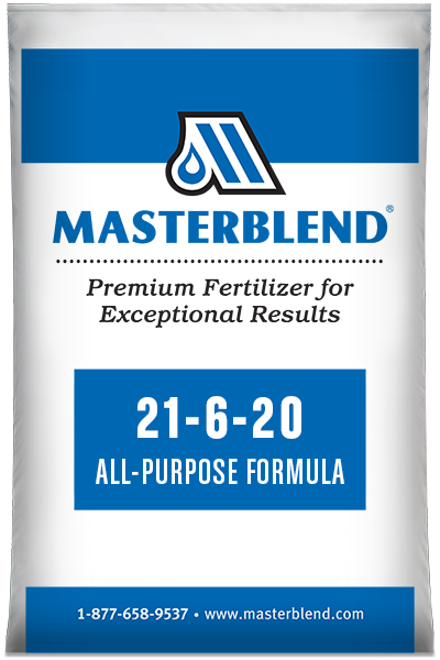 21-6-20 All Purpose FormulaMasterblend water-soluble fertilizer