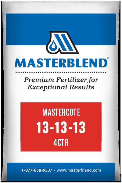 Mastercote 13-13-13 4CTR control-release fertilizer