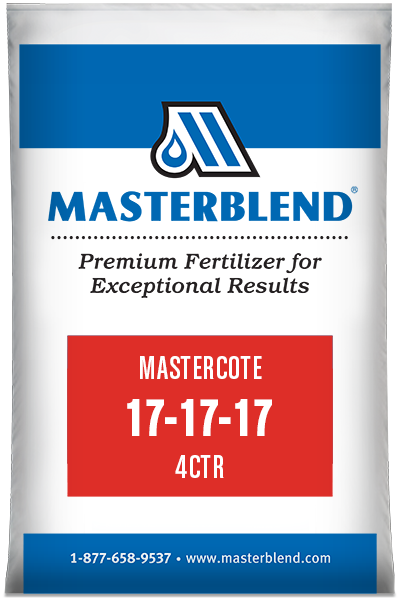 Mastercote 17-17-17 4CTR control-release fertilizer