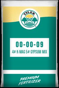 00-00-09 4# K-Mag 5# Gypsum mix