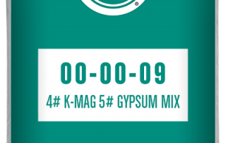 00-00-09 4# K-Mag 5# Gypsum mix