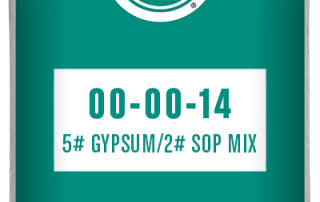 00-00-14 5# Gypsum/2# sop mix