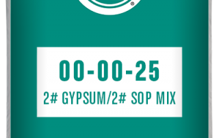 00-00-25 2# Gypsum/2# sop mix