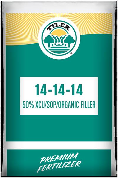 14-14-14 50% XCU/ sop/ organic filler