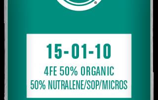 15-01-10 4Fe 50% Organic/50% Nutralene/ sop/ micros