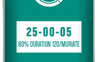 25-00-05 80% Duration 120/Muriate