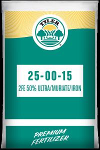 25-00-15 2Fe 50% Ultra/ Muriate/ Iron